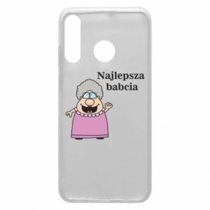 Phone case for Huawei P30 Lite Najlepsza babcia