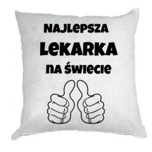 Poduszka Najlepsza lekarka na świecie