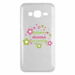 Phone case for Samsung J3 2016 The best mom in the world