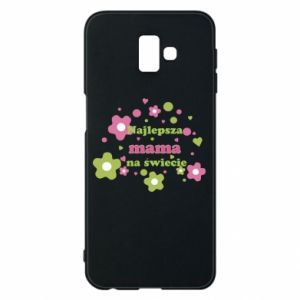 Phone case for Samsung J6 Plus 2018 The best mom in the world