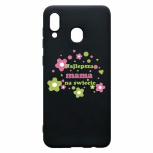 Phone case for Samsung A20 The best mom in the world