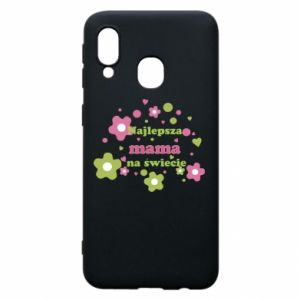 Phone case for Samsung A40 The best mom in the world
