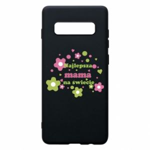 Phone case for Samsung S10+ The best mom in the world