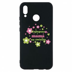 Phone case for Huawei P20 Lite The best mom in the world