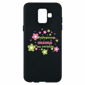 Phone case for Samsung A6 2018 The best mom in the world