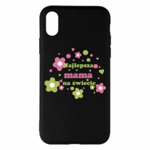 Phone case for iPhone X/Xs The best mom in the world