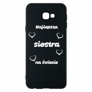 Phone case for Samsung J4 Plus 2018 The best sister in the world