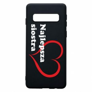 Phone case for Samsung S10 Best sister