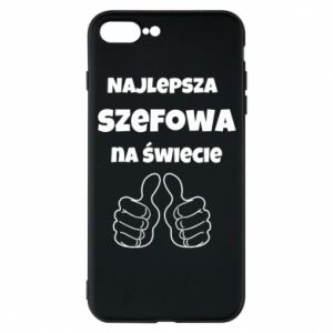 Phone case for iPhone 7 Plus The best boss in the world, for her