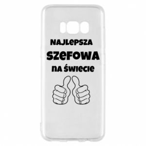 Phone case for Samsung S8 The best boss in the world, for her