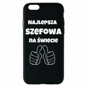 Phone case for iPhone 6/6S The best boss in the world, for her
