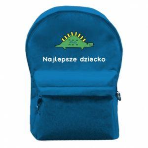 Plecak z przednią kieszenią Najlepsze dziecko