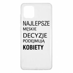 Etui na Samsung Note 10 Lite Najlepsze męskie decyzje...