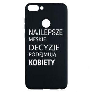 Phone case for Huawei P Smart The best men's decisions... - PrintSalon