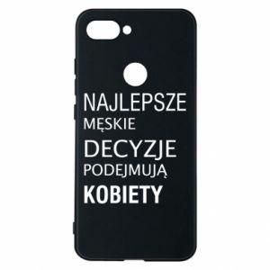Phone case for Xiaomi Mi8 Lite The best men's decisions... - PrintSalon
