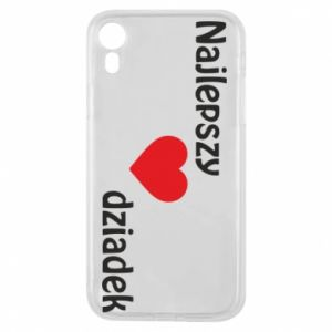 iPhone XR Case Best grandfather with heart