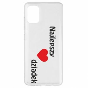 Samsung A51 Case Best grandfather with heart