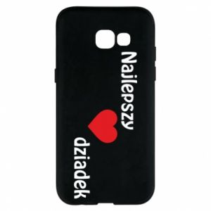 Samsung A5 2017 Case Best grandfather with heart