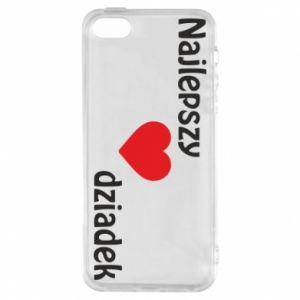iPhone 5/5S/SE Case Best grandfather with heart
