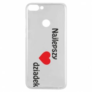 Phone case for Huawei P Smart Best grandfather with heart