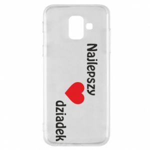 Samsung A6 2018 Case Best grandfather with heart