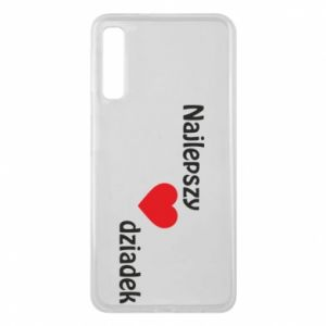 Samsung A7 2018 Case Best grandfather with heart