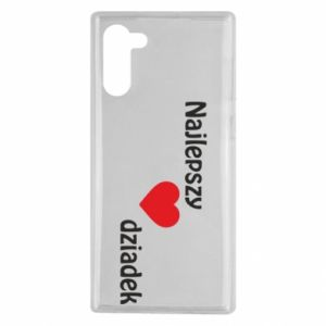 Samsung Note 10 Case Best grandfather with heart