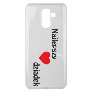 Samsung J8 2018 Case Best grandfather with heart