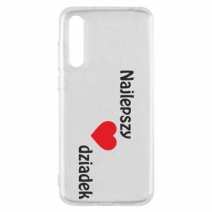 Huawei P20 Pro Case Best grandfather with heart