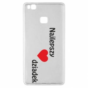 Huawei P9 Lite Case Best grandfather with heart