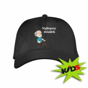 Dziecięca czapeczka z daszkiem Najlepszy dziadek - PrintSalon