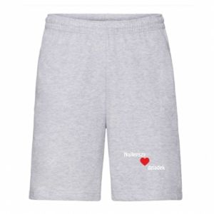 Men's shorts Best grandfather with heart
