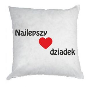 Pillow Best grandfather with heart