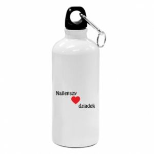Water bottle Best grandfather with heart