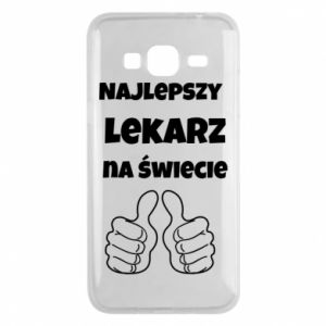 Phone case for Samsung J3 2016 The best doctor in the world, for him