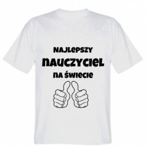 Koszulka męska Najlepszy nauczyciel na świecie