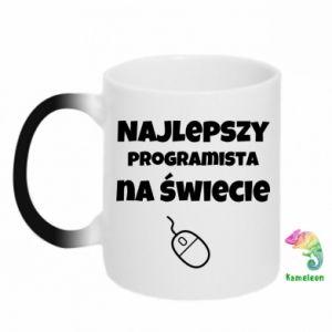 Kubek-kameleon Najlepszy programista na świecie