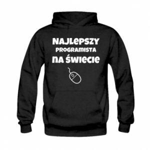 Bluza z kapturem dziecięca Najlepszy programista na świecie