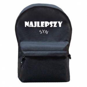 Plecak z przednią kieszenią Najlepszy syn