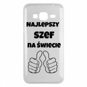 Phone case for Samsung J3 2016 The best boss in the world