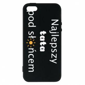Etui na iPhone 5/5S/SE Najlepszy tata pod słońcem
