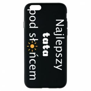 Etui na iPhone 6/6S Najlepszy tata pod słońcem