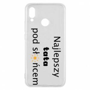 Etui na Huawei P20 Lite Najlepszy tata pod słońcem