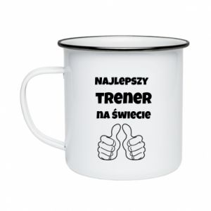 Enameled mug The best trainer in the world