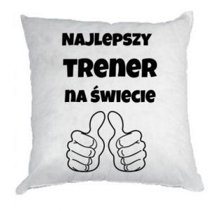 Poduszka Najlepszy trener na świecie