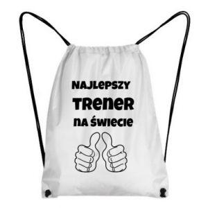 Plecak-worek Najlepszy trener na świecie