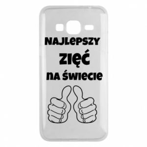 Phone case for Samsung J3 2016 The best son-in-law in the world
