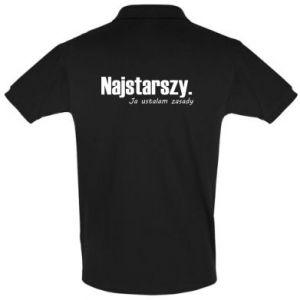 Koszulka Polo Najstarszy. Ja ustalam zasady