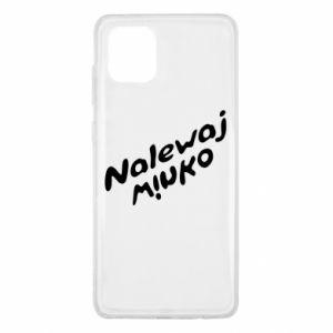 Etui na Samsung Note 10 Lite Nalewaj winko