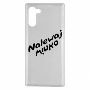 Etui na Samsung Note 10 Nalewaj winko